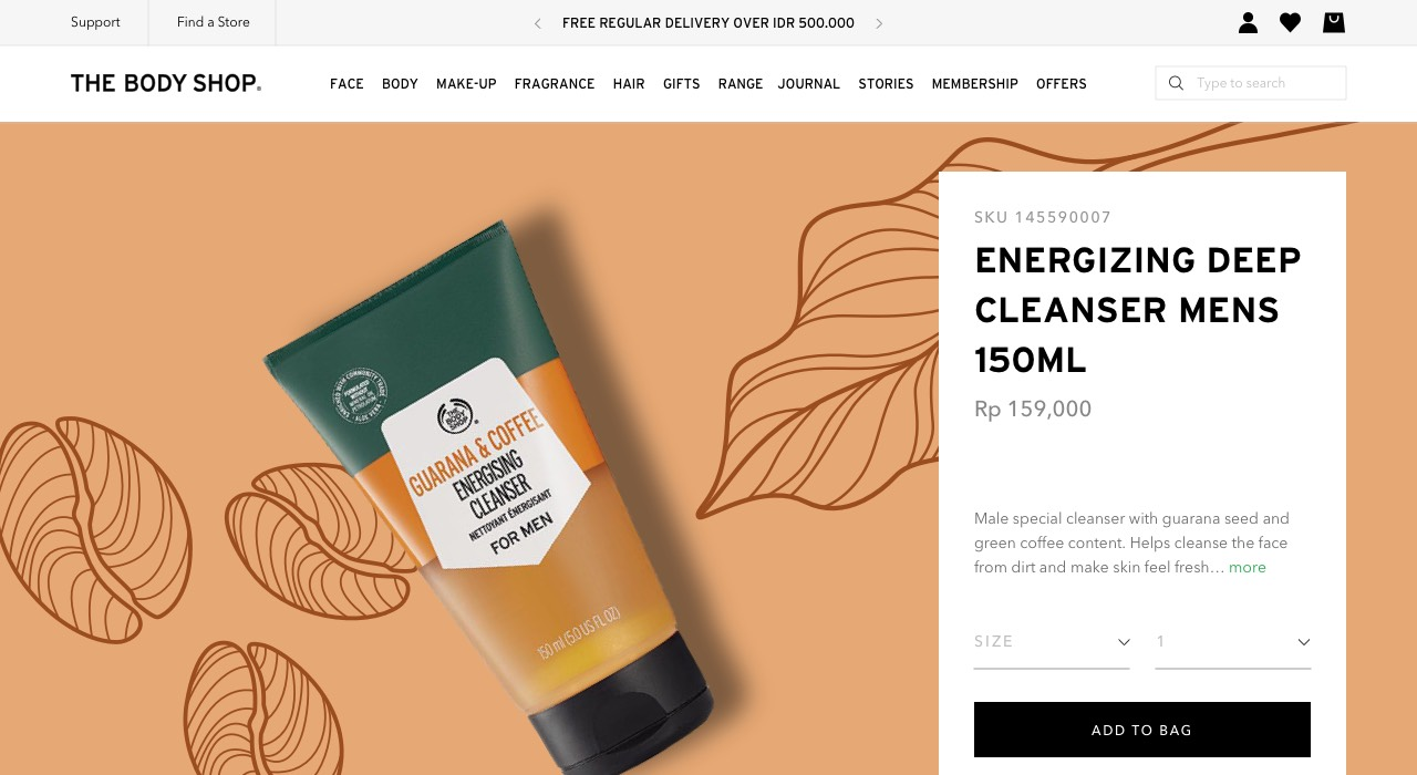 The Body Shop by Fleava - Bali & Jakarta, Singapore Digital Agency
